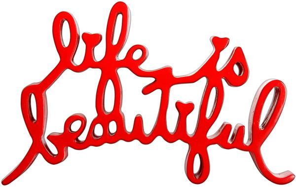 , 'Life Is Beautiful (Red),' 2015, Marcel Katz Art