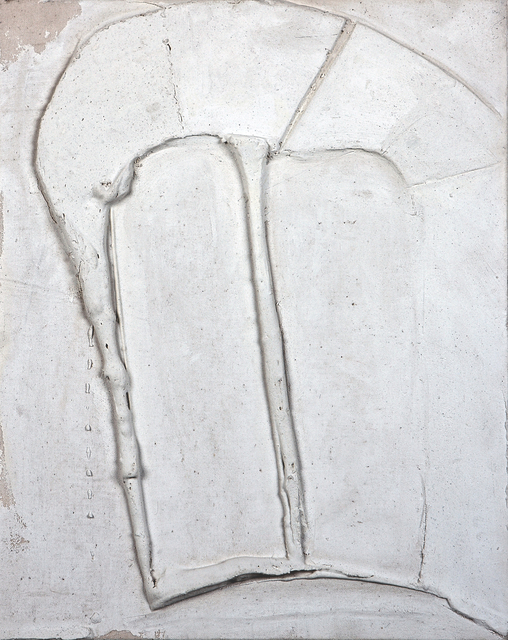 , 'White relief (1970/1),' 1970, ART+TEXT Budapest