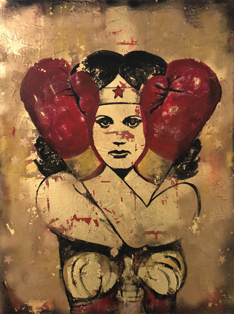 , 'Fight Like A Girl III,' 2017, LoveArt Gallery