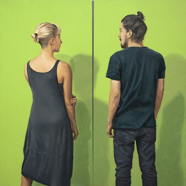 , 'Díptico Verde,' 2018, Artscape Lab