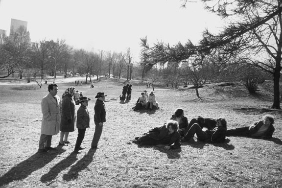 , 'Central Park, New York,' 1971, Pace/MacGill Gallery