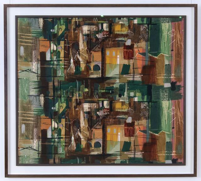 , 'Stones of Bath (Green),' 1962, Gray M.C.A