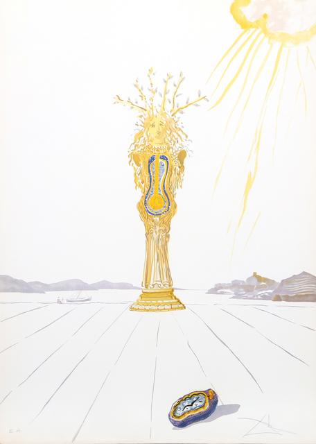 Salvador Dalí, 'Barometer Woman (Barometer) from Time', 1976, RoGallery
