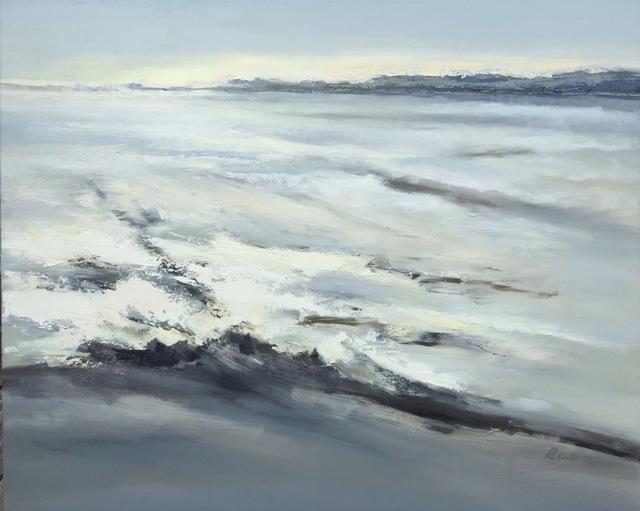 , 'Snow Cover the Marsh,' 2017, Tao Water Art Gallery