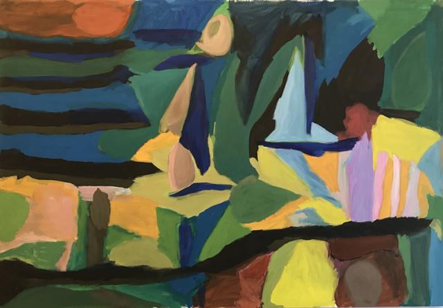 , 'Thundra,' 2017, Galerie Tanit