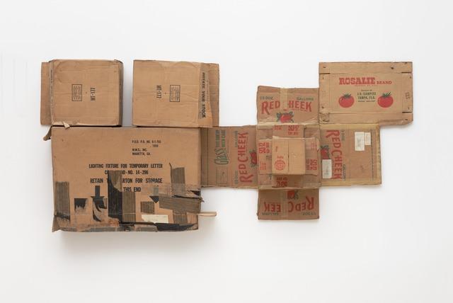 Robert Rauschenberg, 'Rosalie/Red Cheek/Temporary Letter/Stock (Cardboard)', 1971, Sculpture, Cardboard, San Francisco Museum of Modern Art (SFMOMA)