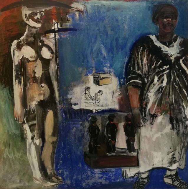 Arlene Amaler-Raviv, 'Three men and two women - Downtown: Johannesburg', The Melrose Gallery