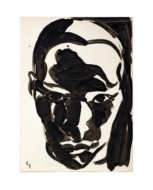 , 'Head,' 1988, Hal Bromm