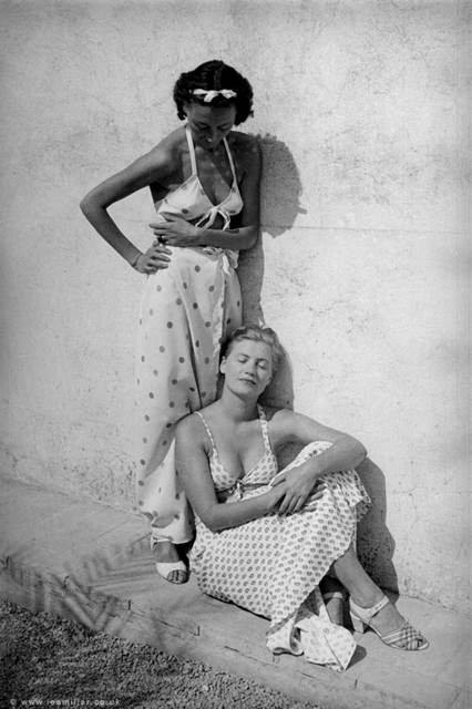 , ''Nusch Eluard and Lee Miller, Mougins, France 1937' by Roland Penrose,' 1937, °CLAIR Galerie