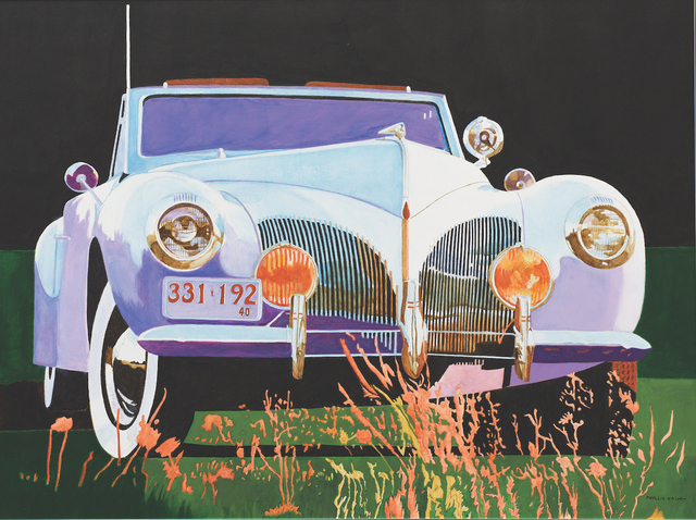 , 'Lincoln Zephyr,' , Walter Wickiser Gallery
