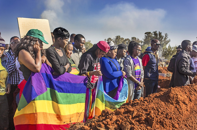 , 'LGBTI Community Showing Their Respect for Their Fallen Comrade,' 2017, Jenkins Johnson Gallery
