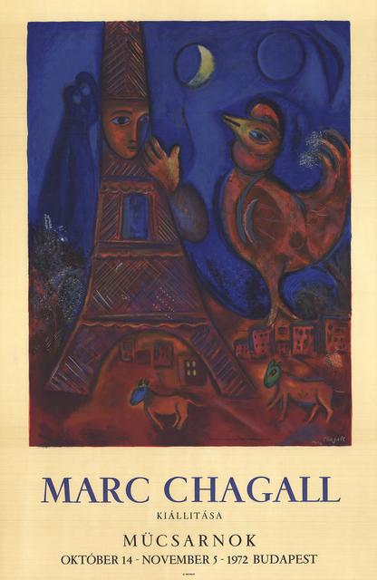 Marc Chagall, 'Good Morning Paris', 1972, Print, Lithograph, ArtWise