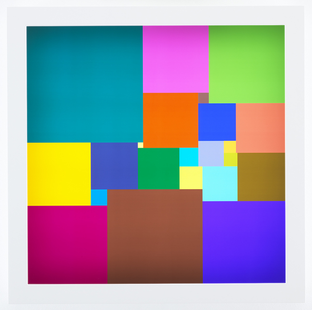 , 'Squared Square (22),' 2018, James Cohan