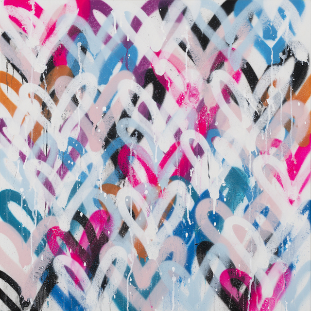 Amber Goldhammer, 'Informal Rhythm', 2021, Painting, Acrylic, Spray, Latex, Ink on Canvas, Ethos Contemporary Art