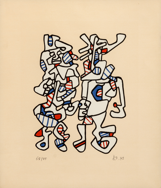 Jean Dubuffet, 'Parade Nuptiale (Courtship)', 1973, Hindman