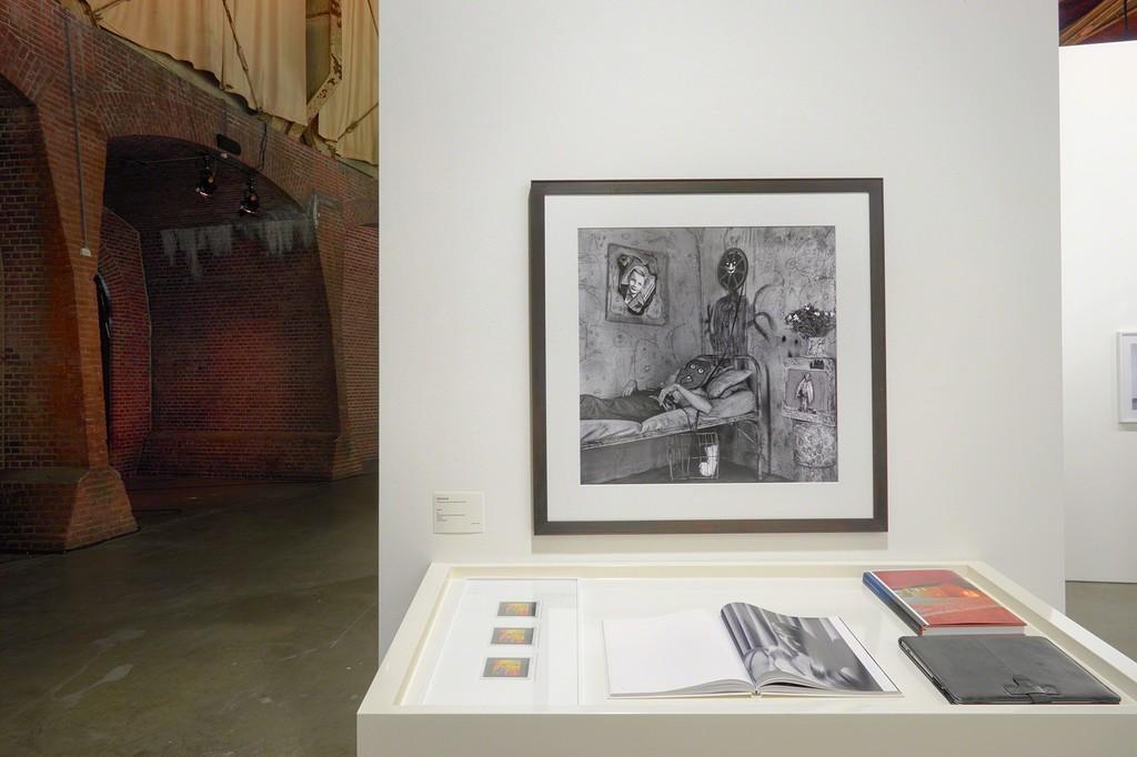 "Roger Ballen ""Unwind"" Archival Pigment print, 90 x 90 cm Unseen Photography Fair  Booth #12 Galerie Alex Daniels - Reflex Amsterdam"