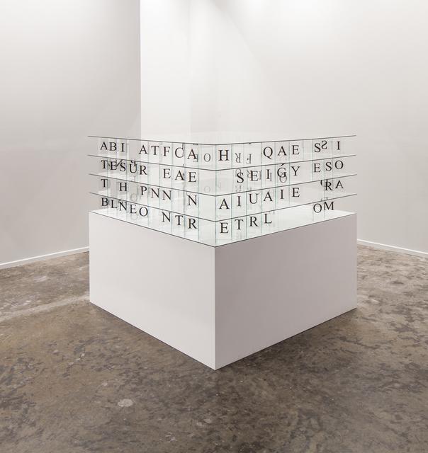 , 'Edicto - Square,' 2015, Sabrina Amrani