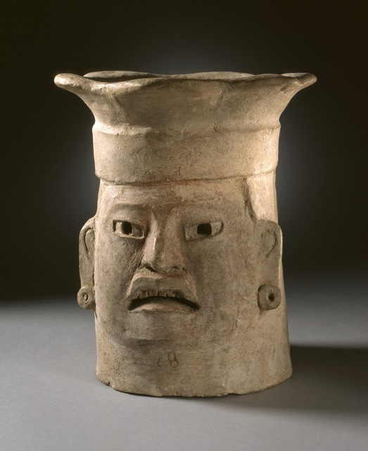 'Effigy Head Brazier', 500-200 BCE, Los Angeles County Museum of Art