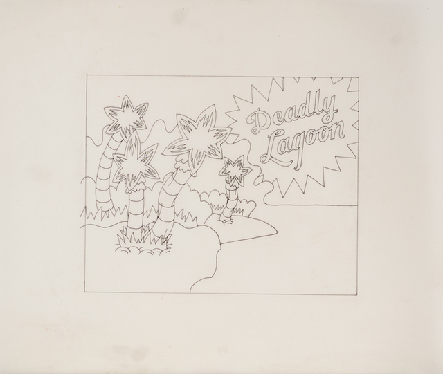 , 'Sketch (Deadly Lagoon),' 1969, Corbett vs. Dempsey