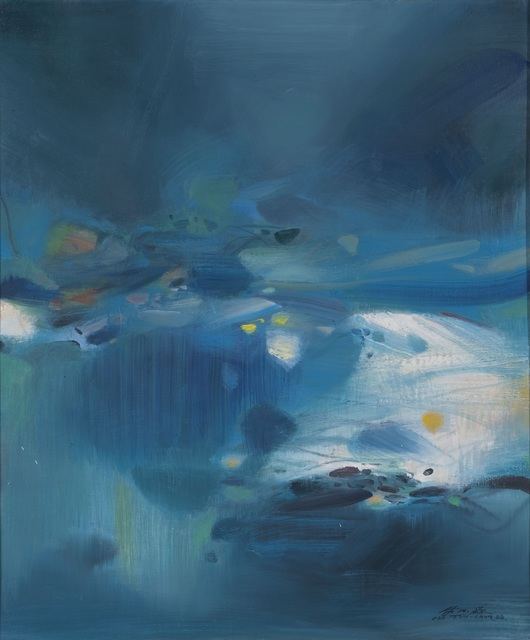 , 'Atmosphère Bleue V,' 1988, Omer Tiroche Gallery