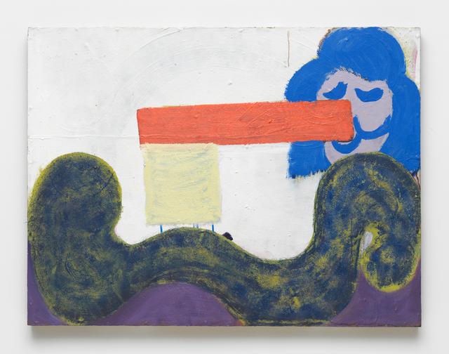 , 'Flagface,' 2017, Maccarone