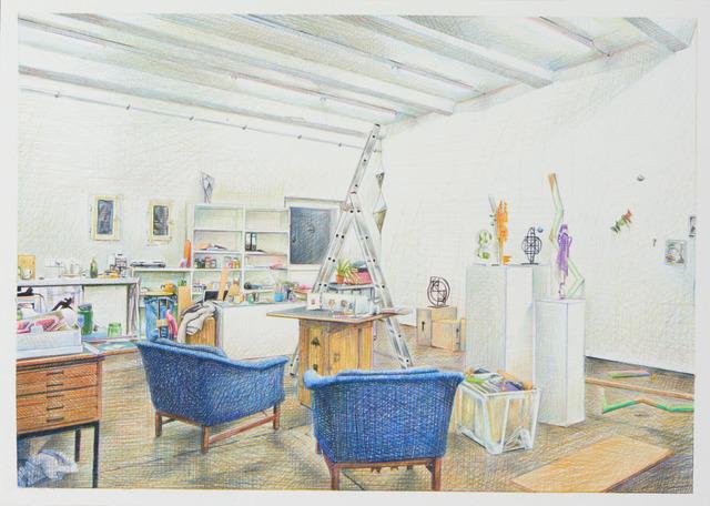 , 'Studio Knut Henrik Henriksen,' 2016, Lullin Ferrari