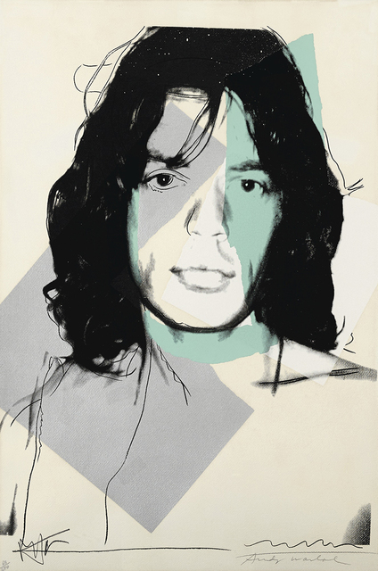 Andy Warhol, 'Mick Jagger #138', 1975, michael lisi / contemporary art