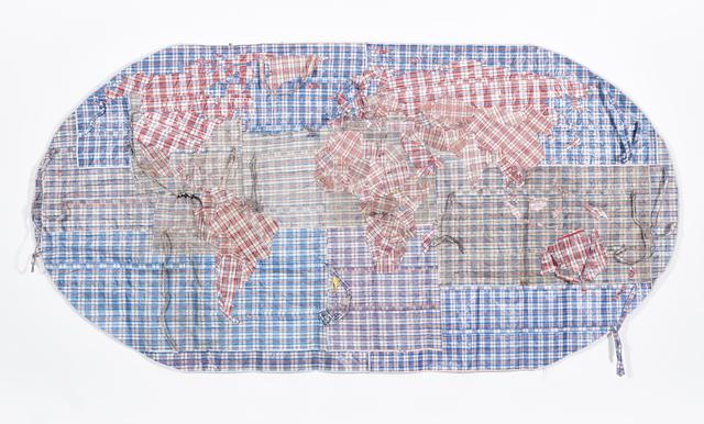 , 'Rifugiato Mappa del Mondo,' 2016, WHATIFTHEWORLD