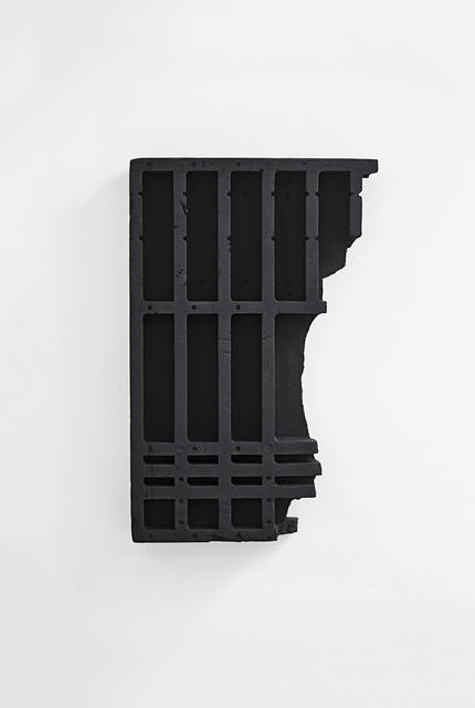 , 'Black Relief,' 2012, Bartha Contemporary