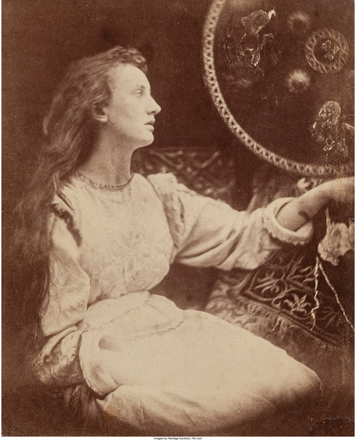 Julia Margaret Cameron, 'May Prinsep as Elaine', 1873, Heritage Auctions