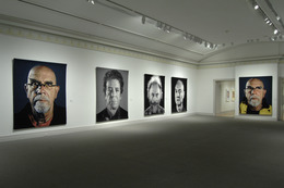 , 'Installation view of Chuck Close: Recent Works,' August 10 , October 14, 2013, Guild Hall