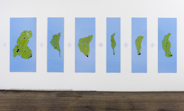 , 'Sixteen Watersheds,' 2011, Ronald Feldman Gallery