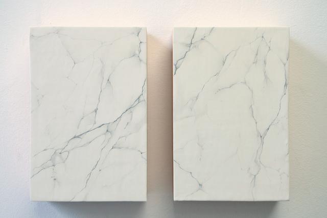 , 'False marble carrara,' 2015, Boccanera