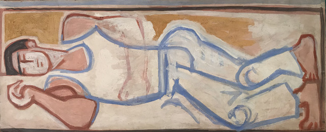 , 'Sleeping Figure,' ca. 1956, Osborne Samuel