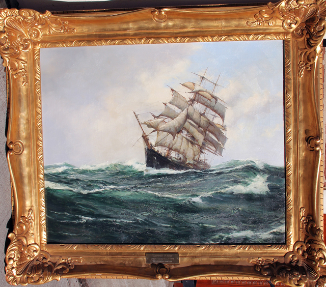 "Montague Dawson, 'The ""Carrie Reed"" under Full Sail', Mark Murray Fine Paintings"