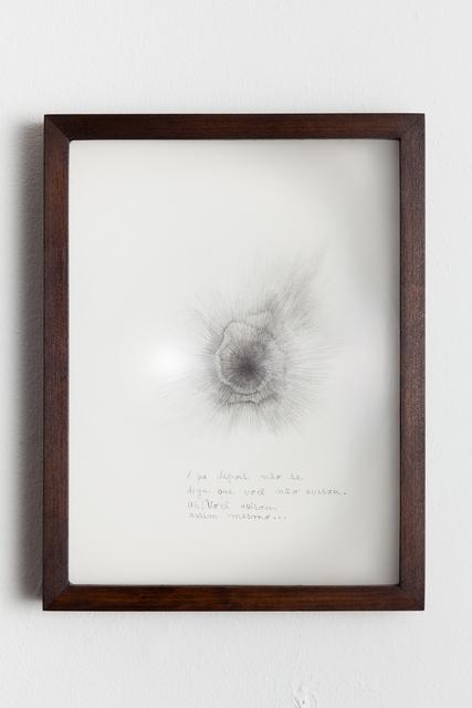 , 'Você avisou,' 2014, Luciana Caravello Arte Contemporânea