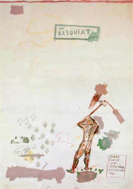 , 'Poster for Gallery Show at Hans Mayer 1988,' 1988, Galerie Hans Mayer