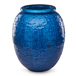 Floor Vase, Persian Blue glaze, New Jersey