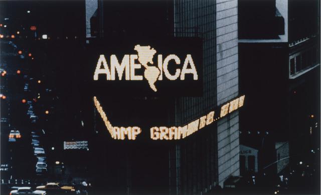 , 'A Logo for America,' 1987-1995, Pérez Art Museum Miami (PAMM)