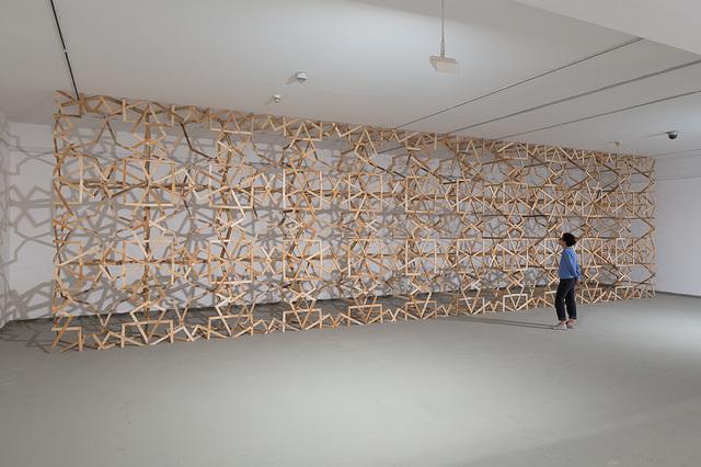 Mahmood Kaiss, 'Arabesque #3', 2015, Installation, Wood Installation, Zemack Contemporary Art