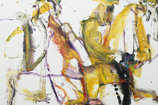 , 'Rainbow Journey IV,' 2015, Wallace Galleries