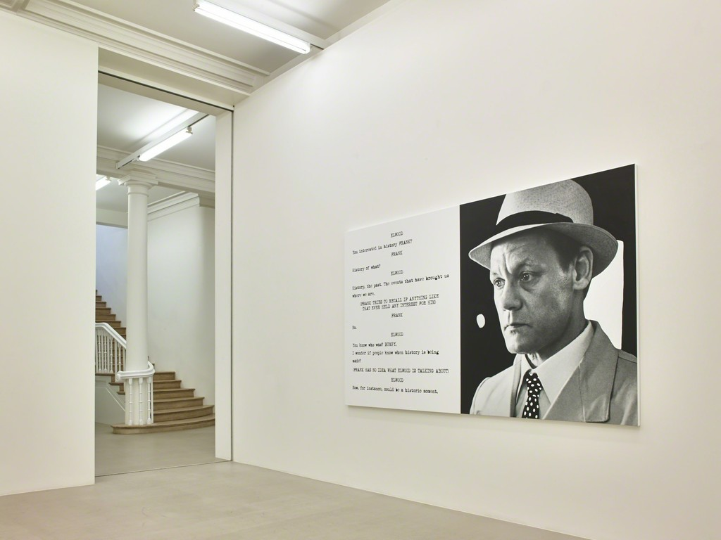 John Baldessari: Pictures & Scripts, Installation View, Marian Goodman Gallery, London, February 28 - April 25, 2015