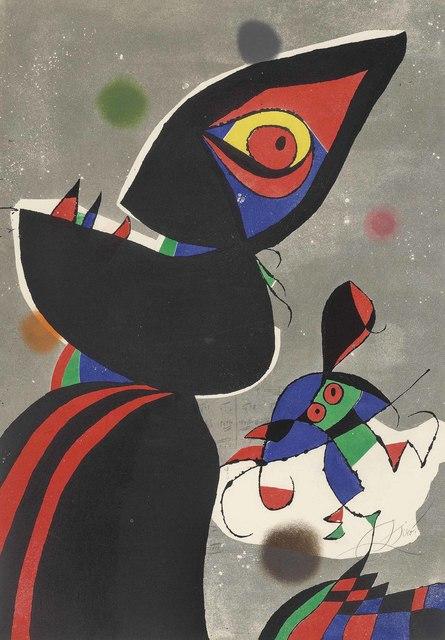 Joan Miró, 'Gaudí XVII', 1979, Christie's