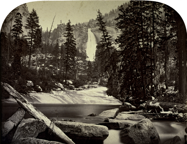 , 'Yo-wi-ye or Nevada Falls,' 1861, George Eastman Museum