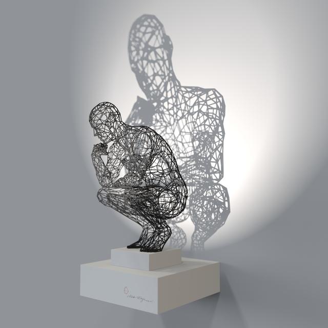 , 'Thinker,' 2016, Joerg Heitsch Gallery