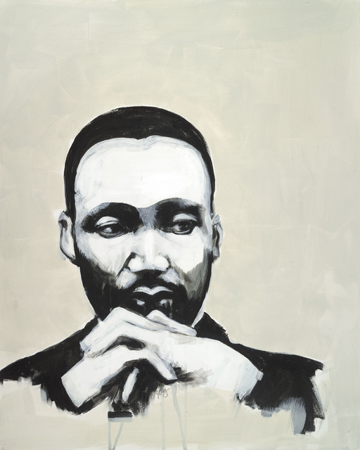 , 'Martin Luther King Jr.,' 2016, Seager Gray Gallery