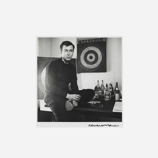 Robert Rauschenberg, 'Jasper—Studio N.Y.C.', 1958 / 1981, Print, Gelatin silver print, Rago/Wright
