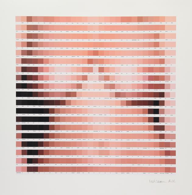 , 'Afraid of a Lady - Print Edition,' 2016, Lawrence Alkin Gallery