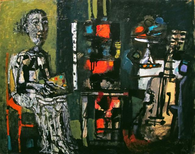 Antoni Clavé, 'Le Peintre', 1950, Galeria Jordi Pascual
