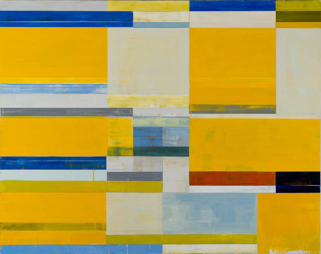 , 'Yellow Shim,' 2015, CYNTHIA-REEVES